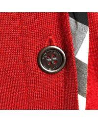Jersey en lana rojo \\N Burberry de color Red