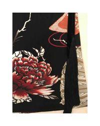 Roberto Cavalli \n Black Viscose Skirt