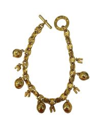 Céline - Metallic Pre-owned Gold Metal Necklace - Lyst