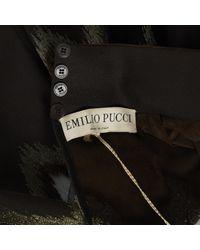 Emilio Pucci \n Black Silk Dress