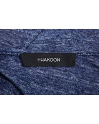 Thakoon Blue Wolle Hemd