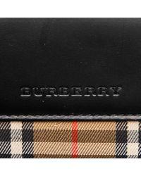 Bolso de Cuero Burberry de color Black