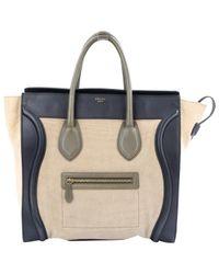 Céline Natural Luggage Shopper