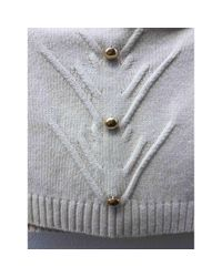 Abrigo en lana blanco \N Blumarine de color White