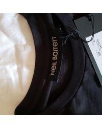 Neil Barrett T-shirts in Black für Herren