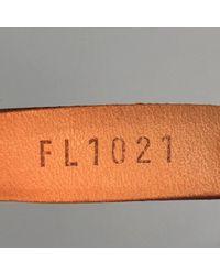 Bolsa de mano en cuero marrón Louis Vuitton de color Brown