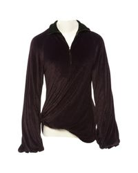 Jean Paul Gaultier Vintage Purple Wool Knitwear