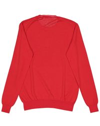 Stella McCartney Red Wolle Pullover