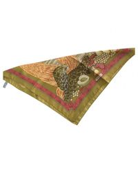 Ferragamo Multicolor Silk Neckerchief