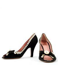 Moschino Black Heels