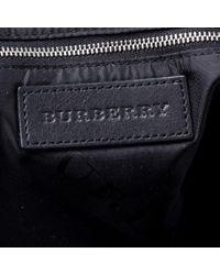 Burberry Black Leder Handtaschen