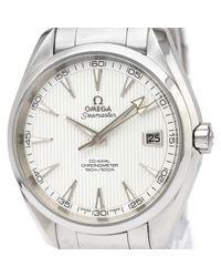 Omega Seamaster Uhren in Metallic für Herren