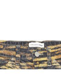 Étoile Isabel Marant Yellow Velvet Trousers