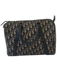 Dior Multicolor Leinen Handtaschen