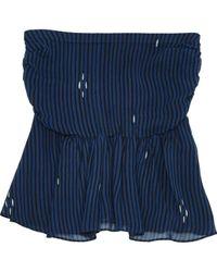 Étoile Isabel Marant Blue Viscose Top