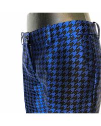Pantalons \N en Polyester Marine Michael Kors en coloris Blue