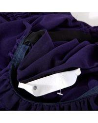 Lanvin Purple Mini Rock