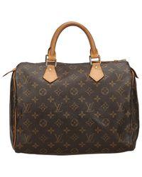 Louis Vuitton Multicolor Speedy Leinen Handtaschen