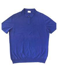 Jil Sander Blue Pre-owned Polo Shirt for men