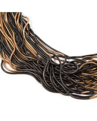 Chanel - Metallic Metal Long Necklace - Lyst