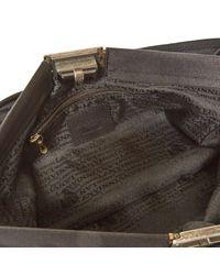 Lanvin \n Black Cloth Handbag