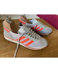 Chaussures de sport toile Continental gris Adidas pour homme en coloris Gray