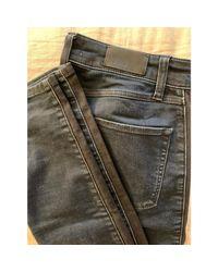 Jeans slim denim, jean bleu Sandro en coloris Blue