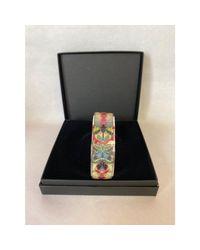 Bracelet acier argent Christian Lacroix en coloris Metallic