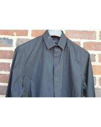 Chemise coton noir Givenchy pour homme en coloris Black