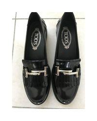Mocassins cuir noir Tod's en coloris Black