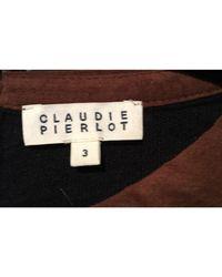 Pull laine mélangée bleu Claudie Pierlot en coloris Blue