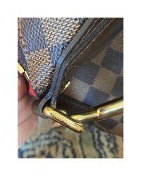Sac XL en cuir toile marron Louis Vuitton en coloris Brown