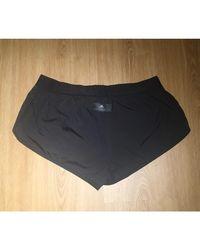 Pantalon de fitness polyester noir Stella McCartney en coloris Black