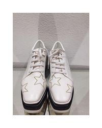 Baskets cuir blanc Stella McCartney en coloris White