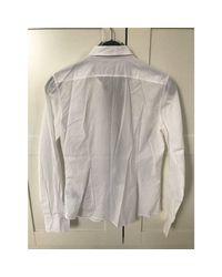 Chemise coton blanc Dolce & Gabbana en coloris White