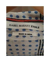 Chemise soie et lin multicolore Isabel Marant