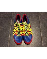 Chaussures de sport synthétique bleu Adidas pour homme en coloris Blue