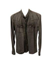 Chemise denim, jean gris The Kooples pour homme en coloris Gray