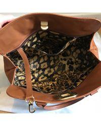 Sac à main en cuir cuir marron Longchamp en coloris Brown