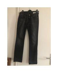Jeans slim coton noir Golden Goose Deluxe Brand en coloris Black