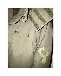 Coupe-vent polyester kaki Moschino pour homme en coloris Green