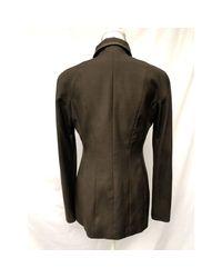 Blazer, veste tailleur viscose marron Dior en coloris Brown