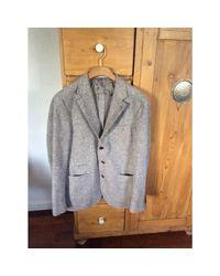 Veste laine marron Brunello Cucinelli pour homme en coloris Brown