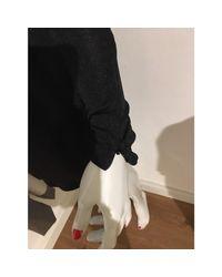 Robe dos nu synthétique noir By Malene Birger en coloris Black