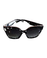 Lunettes de soleil noir Marc Jacobs en coloris Black
