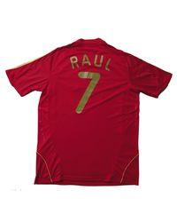 Haut de survêtement nylon rouge Adidas pour homme en coloris Red