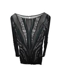 Robe courte ne sais pas noir Roberto Cavalli en coloris Black