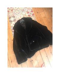 Manteau polyester noir The Kooples en coloris Black