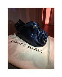 Sac à main en cuir cuir bleu Gerard Darel en coloris Blue