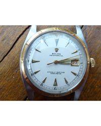 Montre au poignet acier OYSTER PERPETUAL argent Rolex pour homme en coloris Metallic